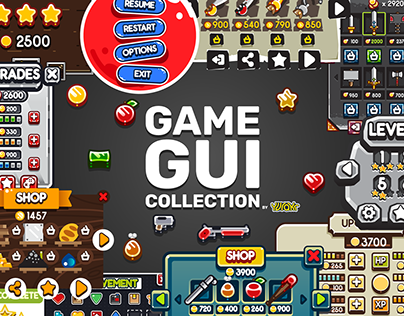 GAME GUI COLLECTION