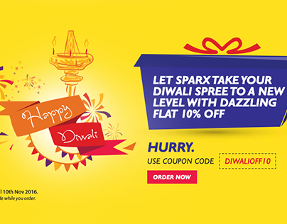 Sparx IT Solutions offer 10% OFF on all projects