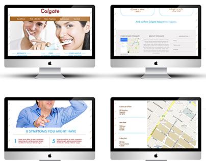 Responsive Website for Colgate