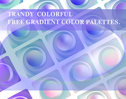 Free awesome Vector gradients