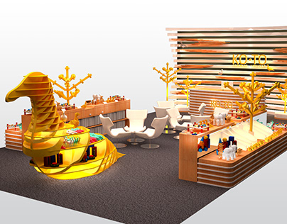 Baby Product Exhibition Booth Concept