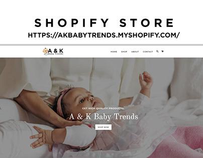 Modern Designed Shopify Store