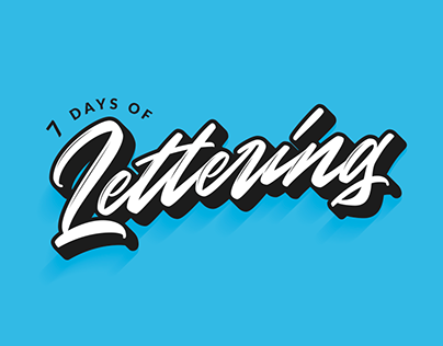 7 Days of Lettering