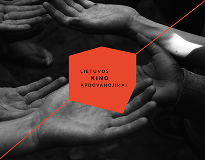 Visual identity for Lithuanian Film Award