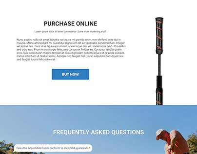 AdjustablePutters.com Website