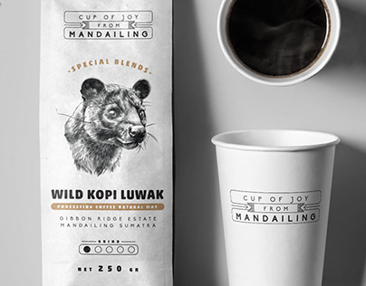 WILD KOPI LUWAK | Coffee Brand Packaging Design