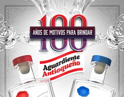 FLA - Aguardiaente Antioqueño - Advertising