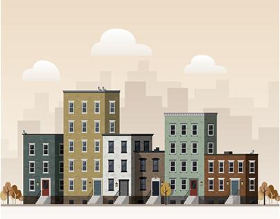 Brooklyn, NY (Illustration)