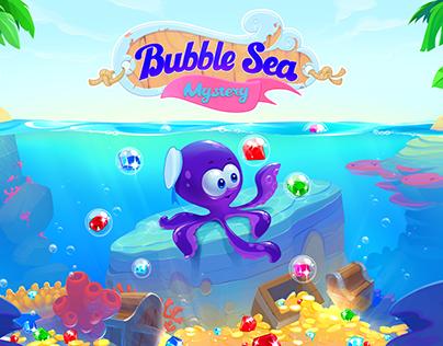 Bubble sea mystery