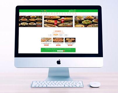 Pizza Fan Website UI UX & Redesign