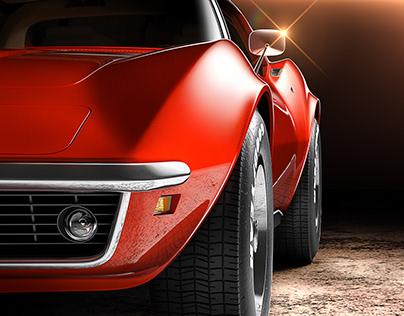 Corvette C3 - Full CGI