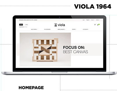 Viola 1964 - E-commerce   Web Design