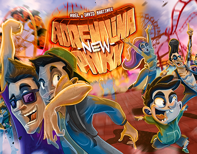 Adrenalina New Park (BoardGame)