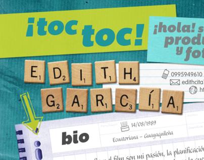 Resume Edith García V.