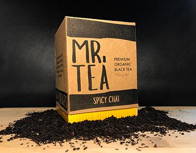 Mr. Tea Packaging Design