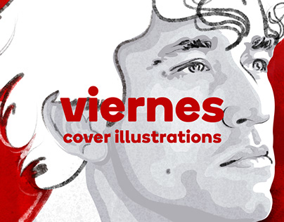 Cover Illustrations. Viernes magazine