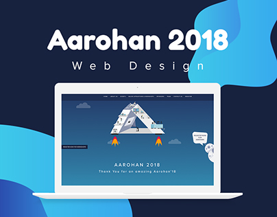 AAROHAN 2018 - WEBSITE DESIGN & DEVELOPMENT