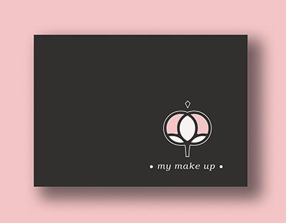My make up / DISEÑO DE MARCA. TARJETA PERSONAL