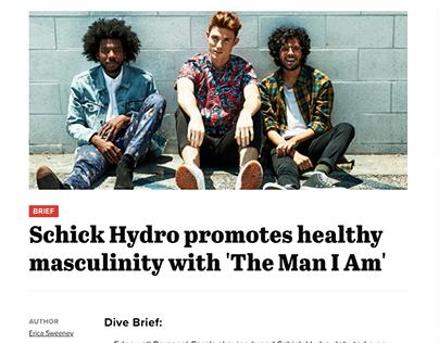Schick Hydro   #TheManIam