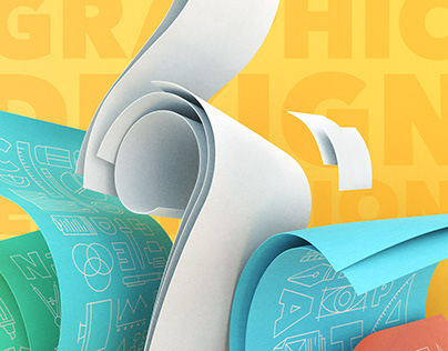 """GU"" Graphic Design Exhibition | Poster, Icons"