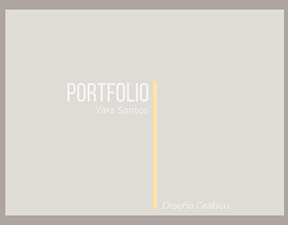 Portfolio Diseño Gráfico - Yara Santos