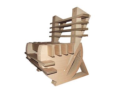 2nd Yr Project - Cardboard Chair