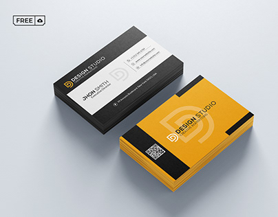 Creative Business Card PSD Template Free Download