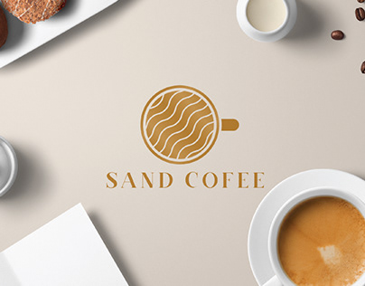 Sand Coffee Logo Design - Unused Logo / Logo for Sale