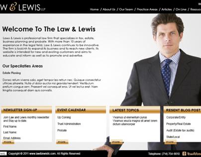 LAW & LEWIS
