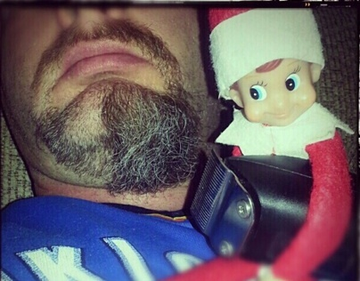 """THE BAD"" ELF ON A SHELF (not for children)"