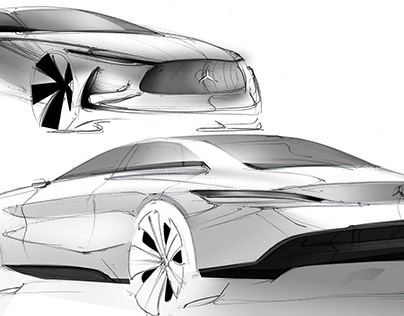 Mercedes-Benz sketches 2