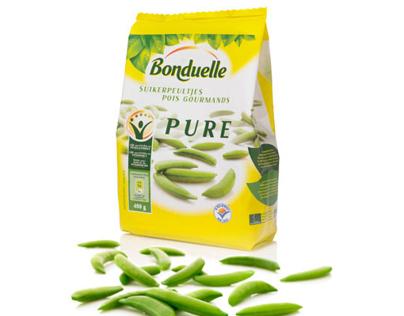 Bonduelle brand name 'Pure' + Design product range