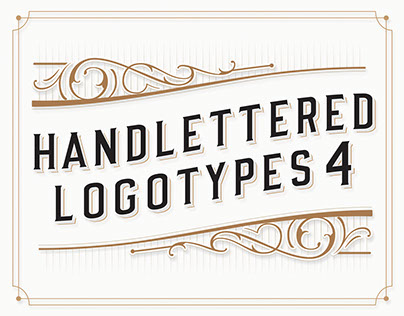 Handlettered Logotypes 4
