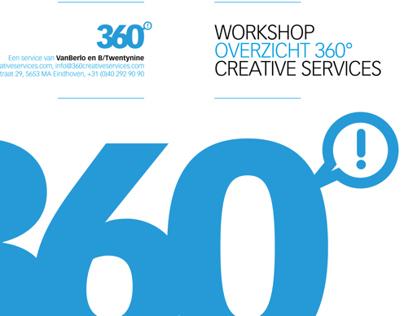 360º Logo design + promotion booklet