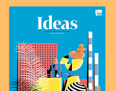 Ideas - IE Alumni Magazine Cover