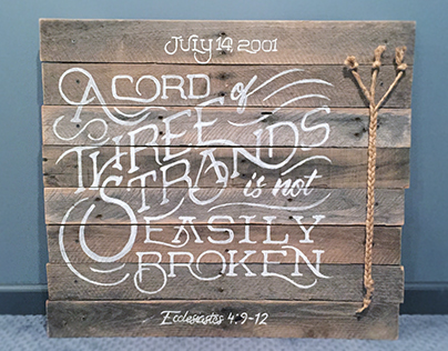 Wood & Lettering
