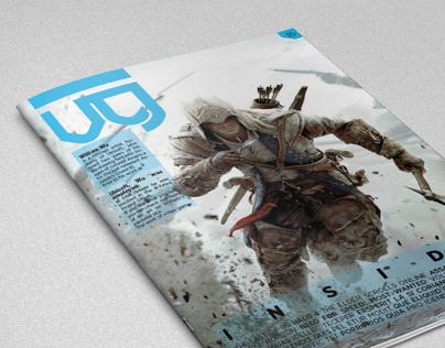 VG magazine - Videogame concept magazine