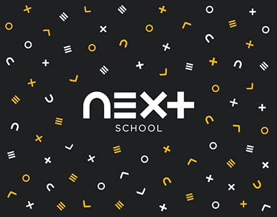 NEXT School - Branding