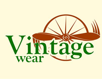 Vintage wear LOGO
