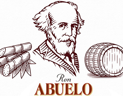 Ron Abuelo Two Oaks XII brand-marks by Steven Noble