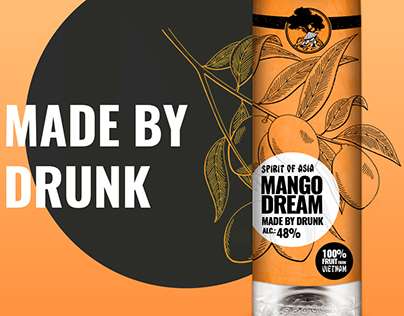 """""""MangoDream"""" hungarian brandy"""