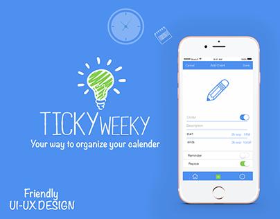 Tickyweeky App IOS@