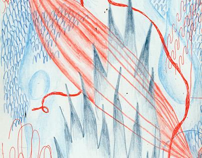 Week before Winter Break 17 Sketchbook
