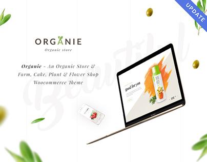 Organie - A Delightful Organic Store WooCommerce Theme