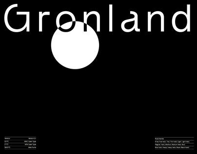 Gronland™ Type Family
