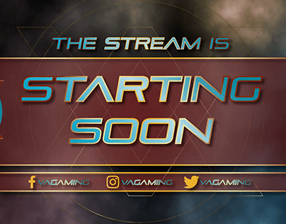 Facebookgaming I Twitch Stream Animated Package