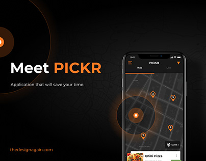 Meet PICKR app