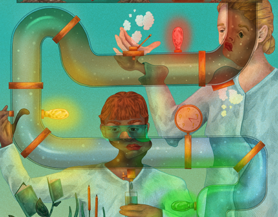 Illustrations for University of Gothenburg