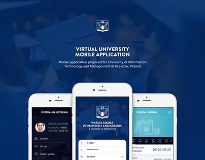 Virtual University Mobile Application