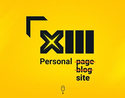 Xitri - personal blog